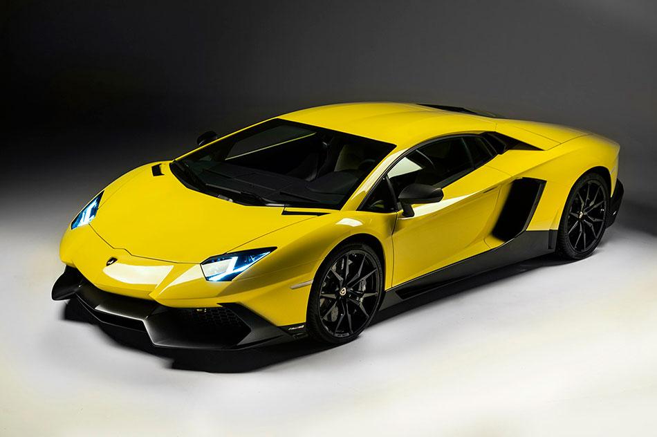 2014 Lamborghini Aventador LP720-4 50 Anniversario Edition Front Angle