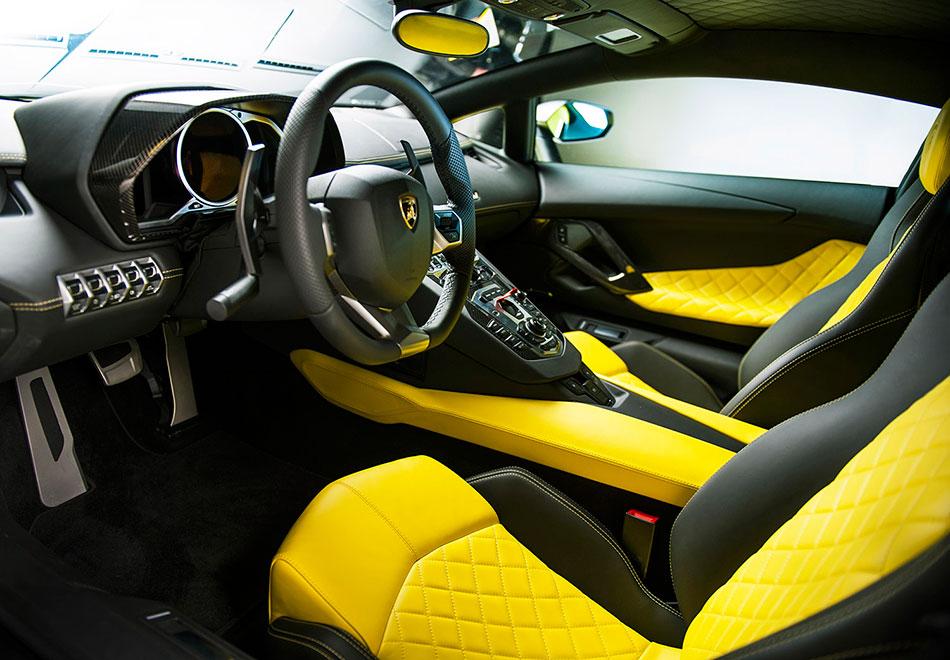 2014 Lamborghini Aventador LP720-4 50 Anniversario Edition Interior