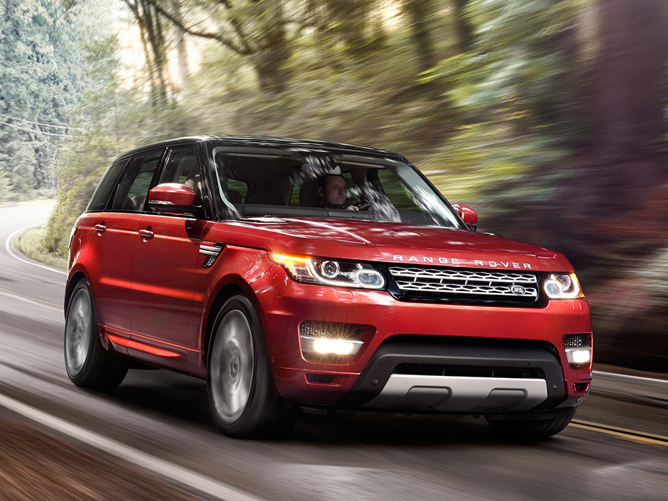 2014 Land Rover Range Rover Sport Front Angle