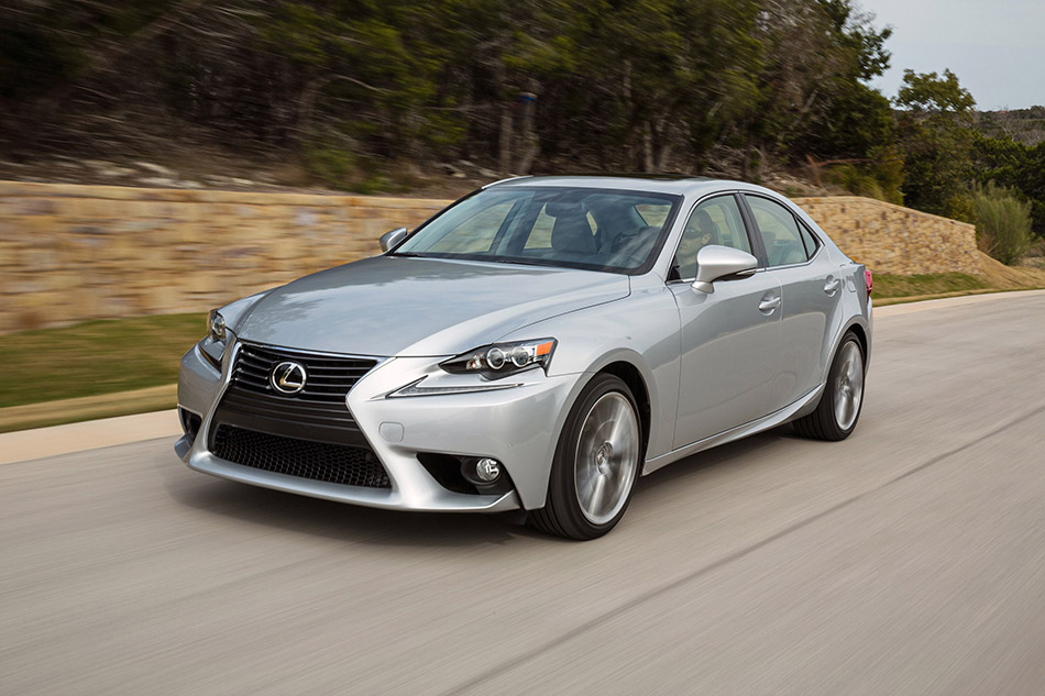 2014 Lexus IS Front Angle