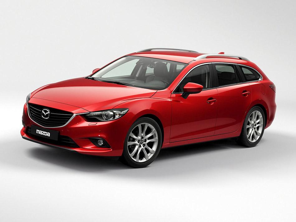 2014 Mazda6 Front Angle