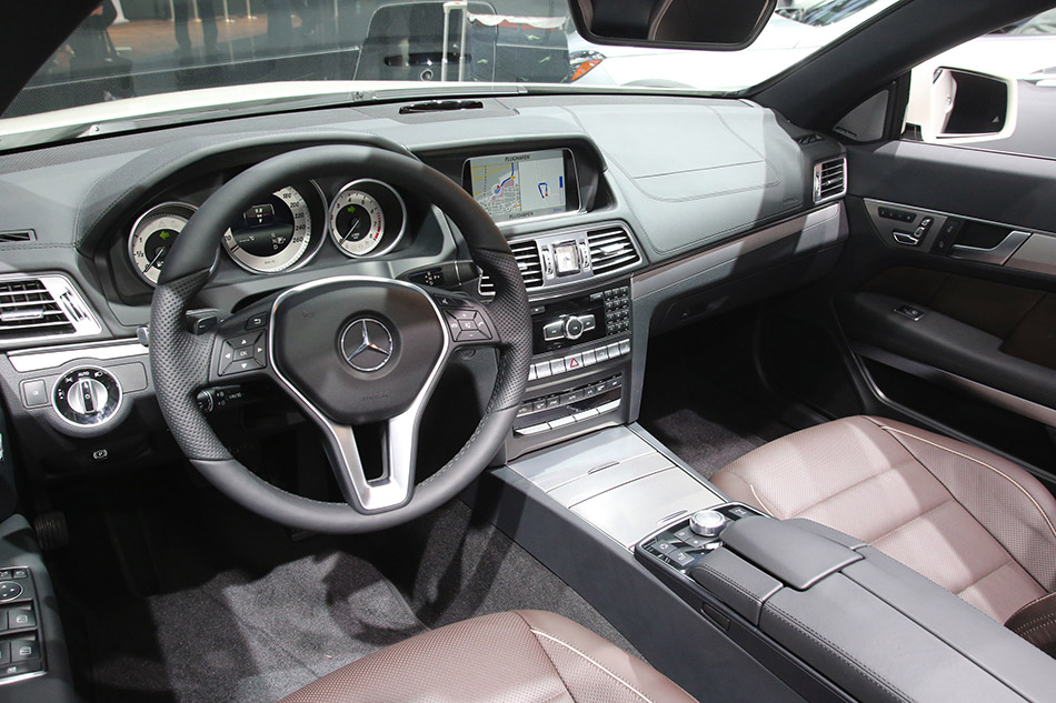 2014 Mercedes-Benz E-Class Coupe and Cabriolet Interior