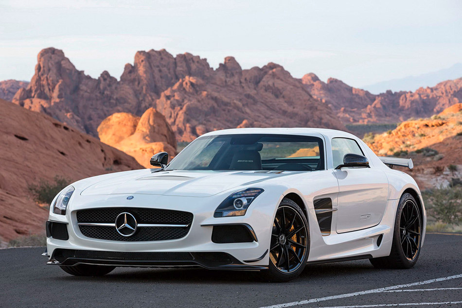 2014 Mercedes-Benz SLS AMG Black Series Front Angle