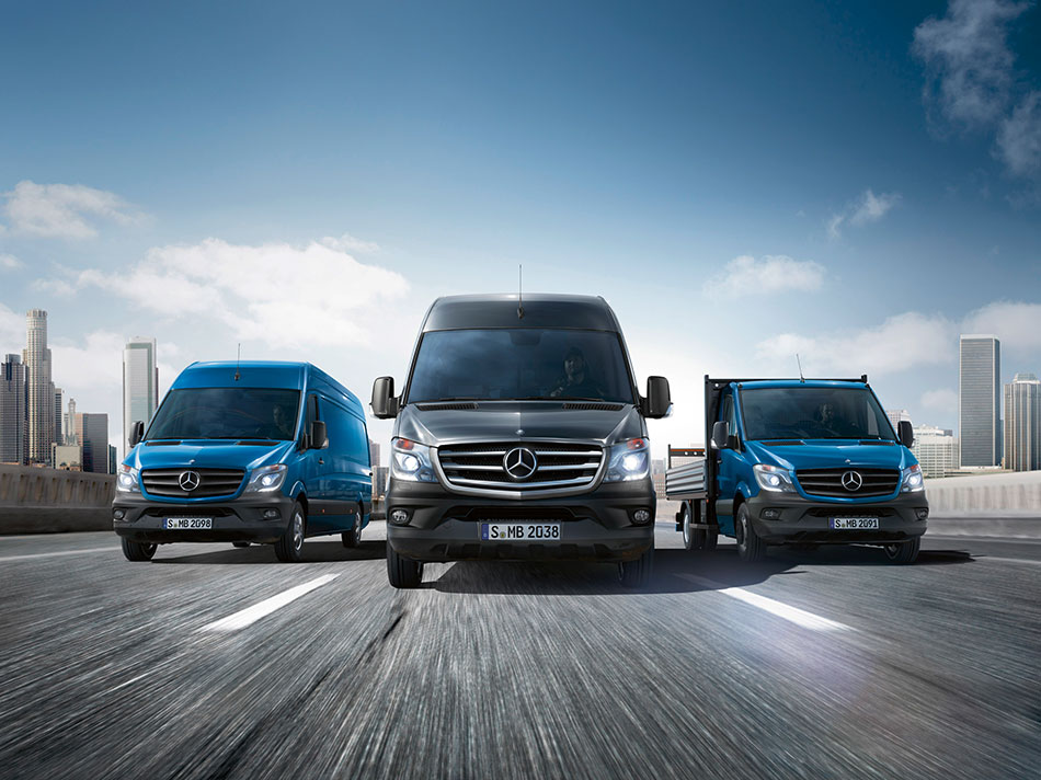 2014 Mercedes-Benz Sprinter Front