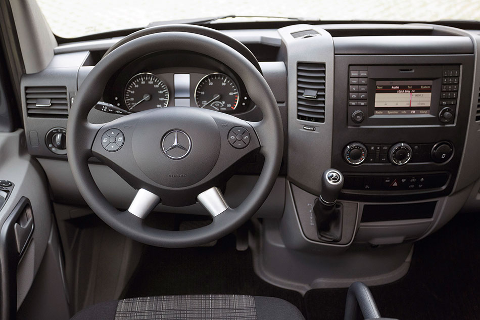 2014 Mercedes-Benz Sprinter Interior