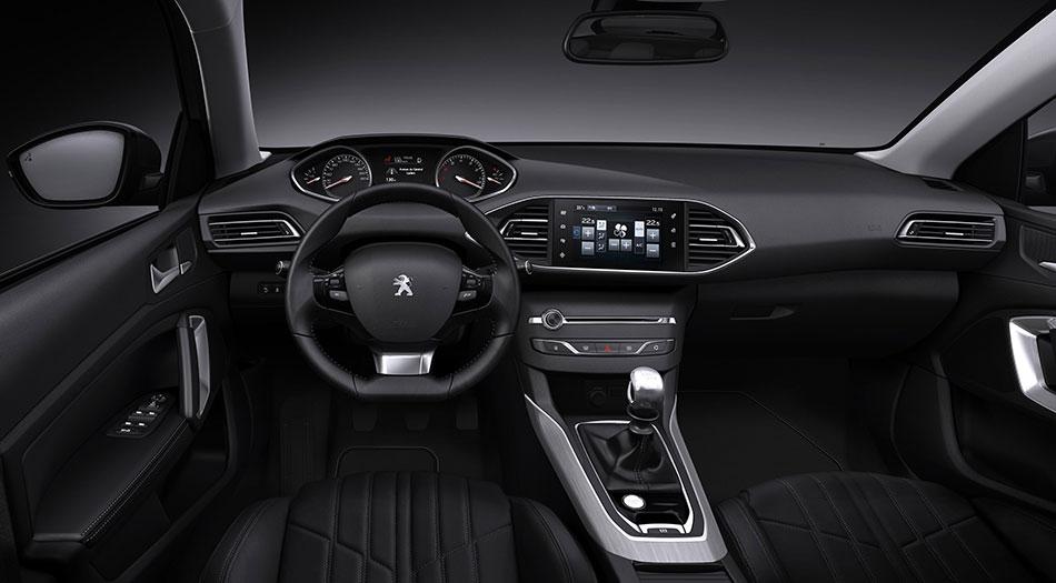 2014 Peugeot 308 Interior