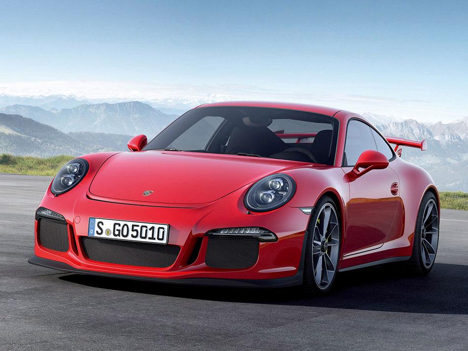 2014 Porsche 911 GT3 Front Angle