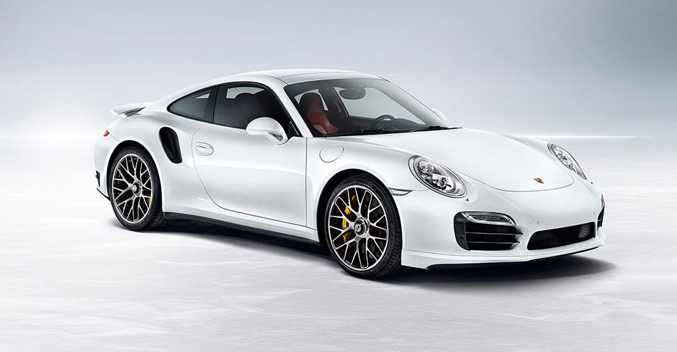 2014 Porsche 911 Turbo Front Angle