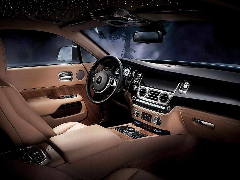 2014 Rolls-Royce Wraith Interior
