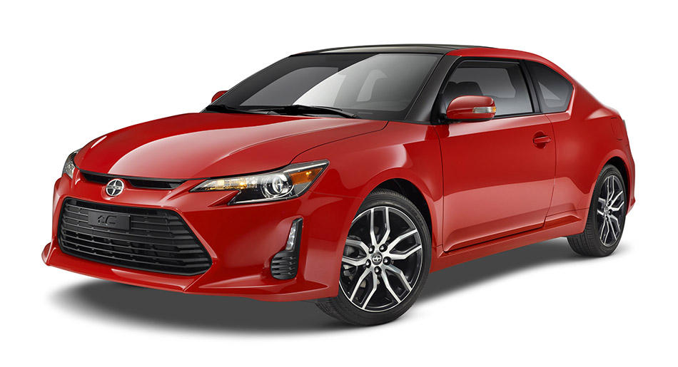 2014 Scion tC Front Angle