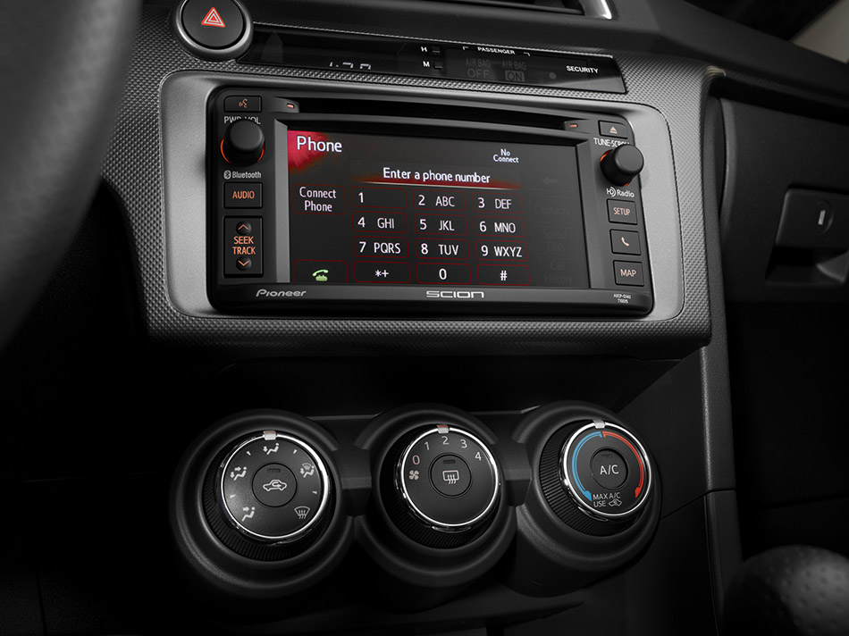 2014 Scion tC Interior