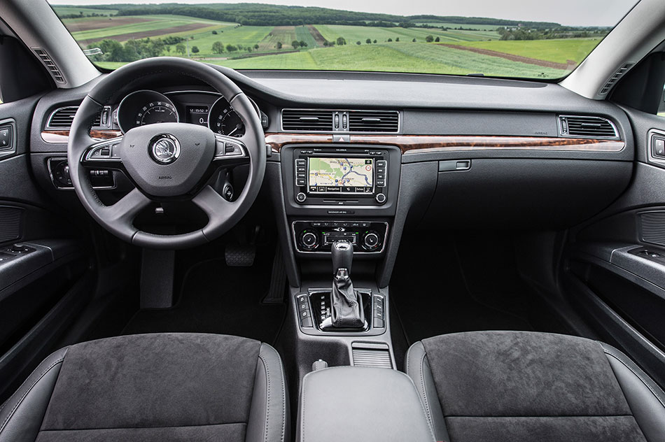 2014 Skoda Superb Interior