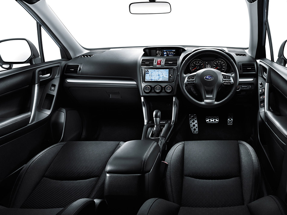 Subaru Forester Interior on Subaru Boxer Engine 4