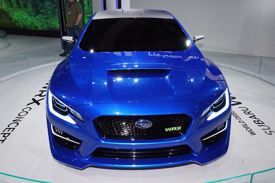 2014 Subaru WRX Concept Front
