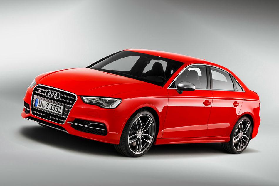 2015 Audi S3 Sedan Front Angle