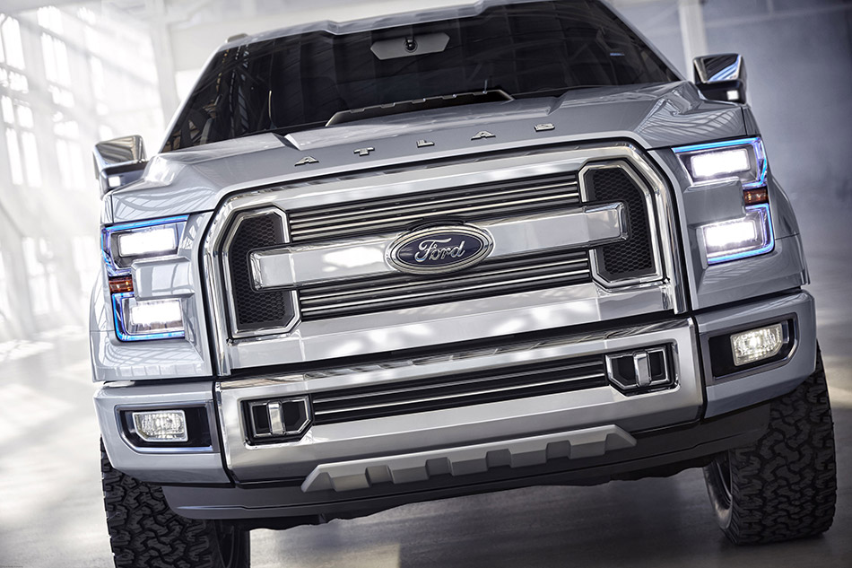2015 Ford Atlas Concept Front
