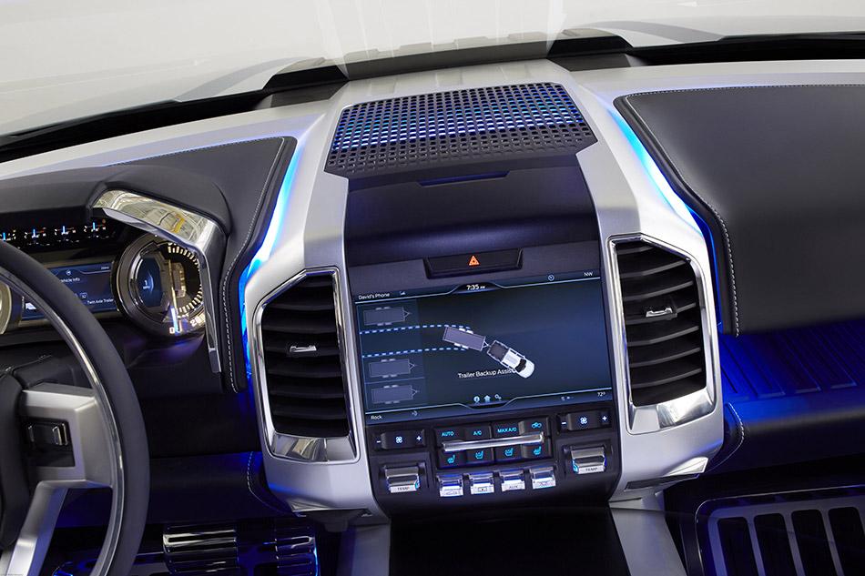 2015 Ford Atlas Concept Interior