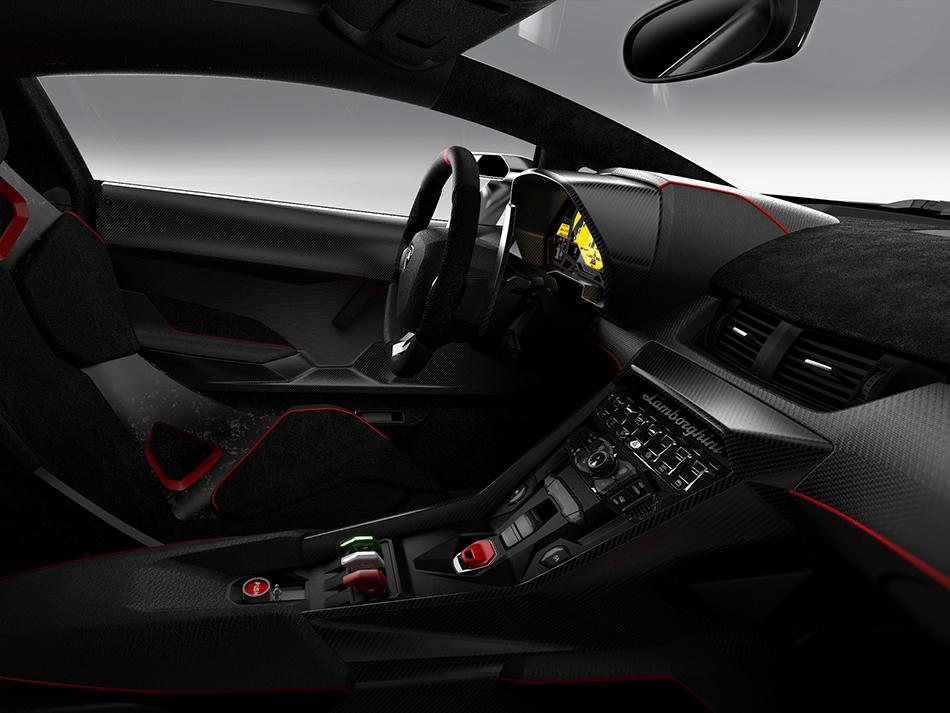 2015 Lamborghini Veneno Interior
