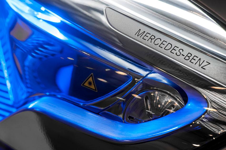 2015 Mercedes-Benz Concept GLA-Class Headlights