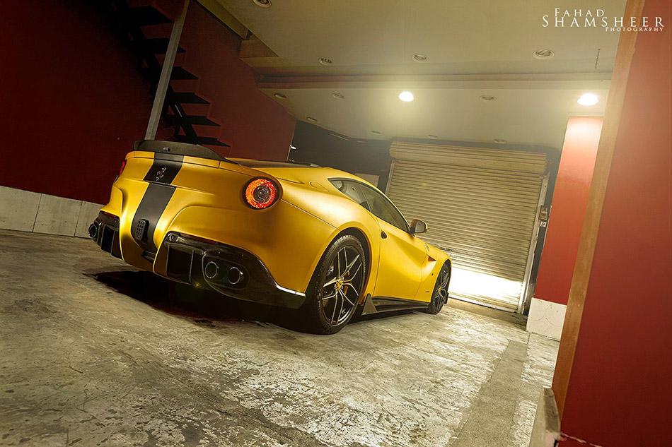 2013 DMC Ferrari F12 SPIA Middle East Special Edition