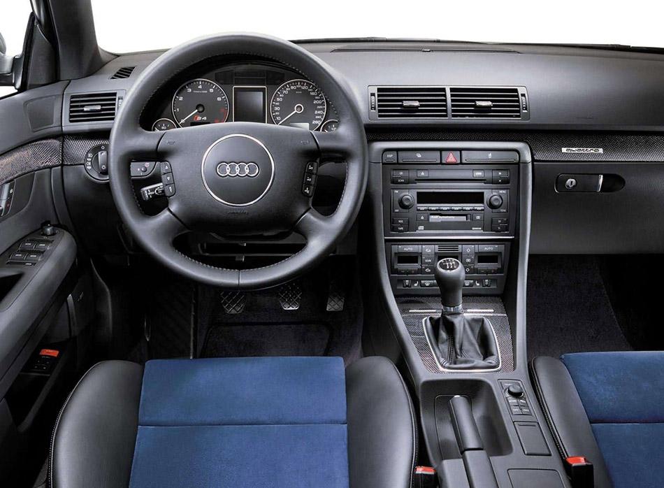 2002 Audi S4 Interior