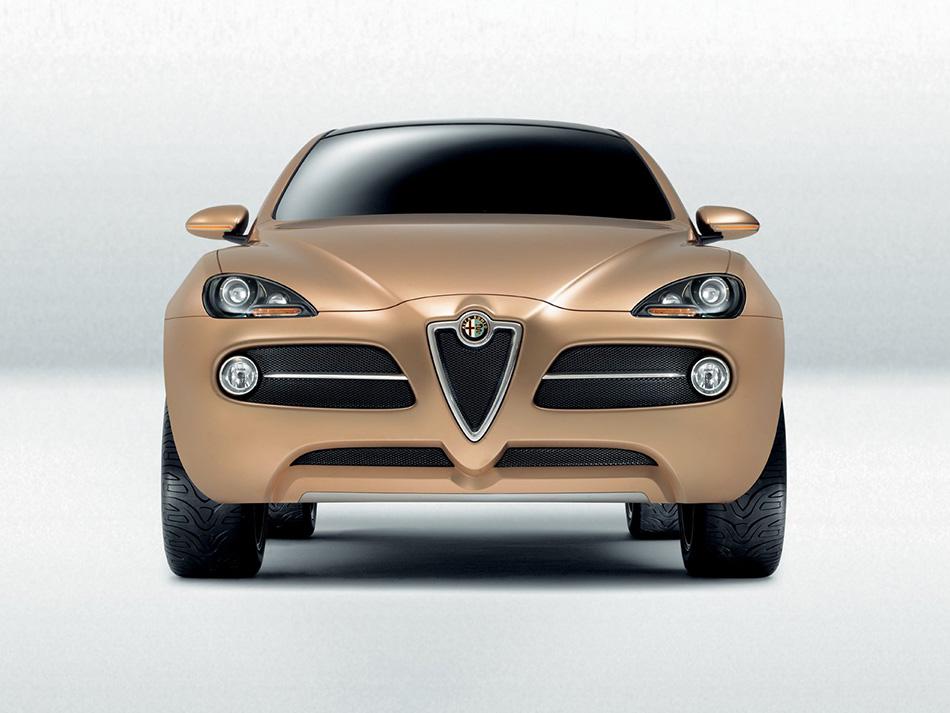 2003 Alfa Romeo Kamal Concept Front