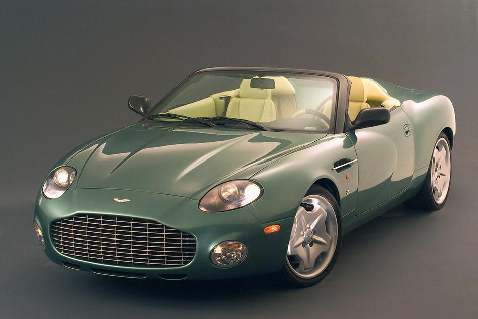 2003 Aston Martin DB AR1 Front Angle
