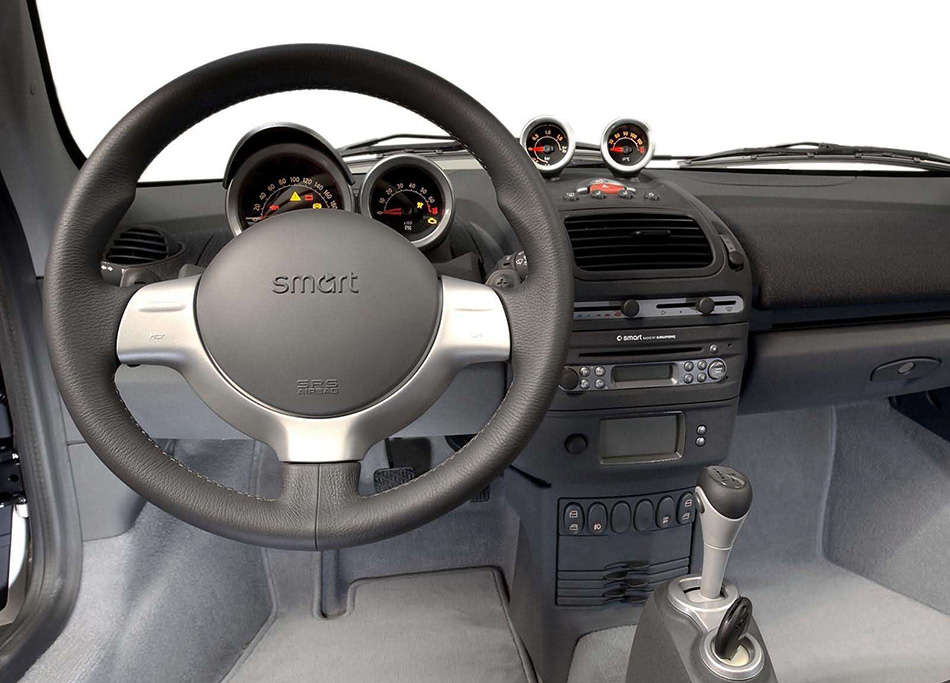 2003 Smart Roadster Coupe Interior