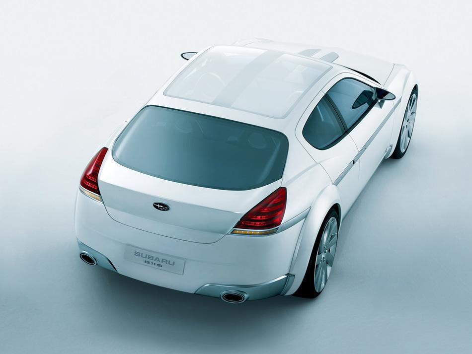 2003 Subaru B11S Concept Rear Angle