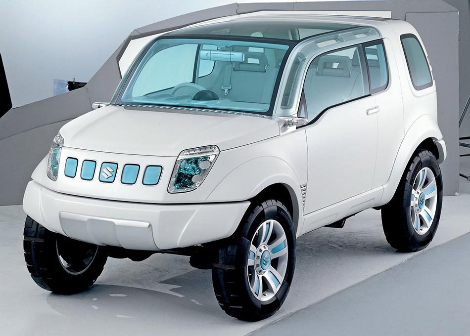 2003 Suzuki Landbreeze Concept Front Angle