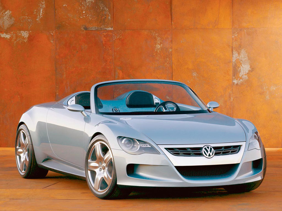 2003 Volkswagen Concept R Front Angle