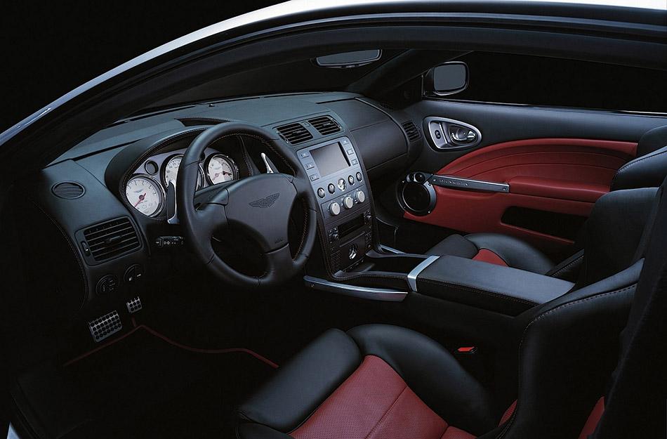 2004 Aston Martin Vanquish S V12 Interior