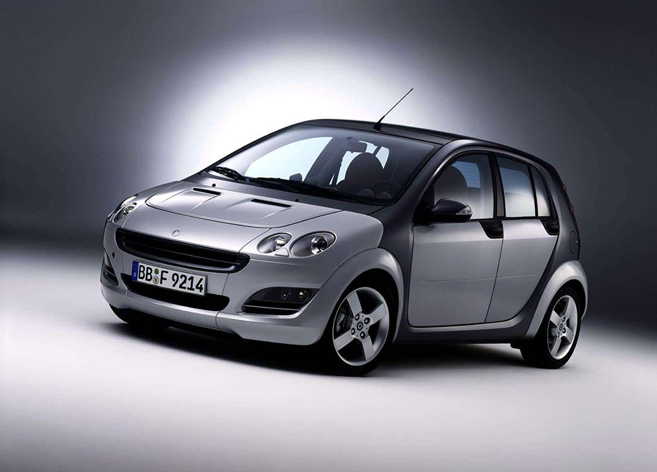 2004 Smart ForFour Front Angle
