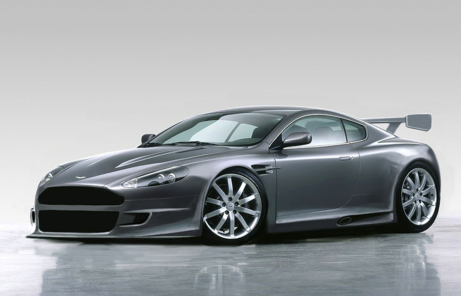 2005 Aston Martin DBR9 Front Angle
