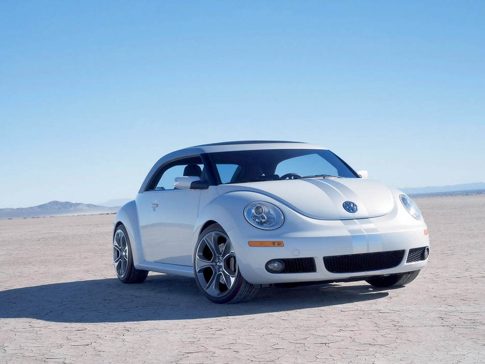 2005 Volkswagen Beetle Ragster Concept Front Angle