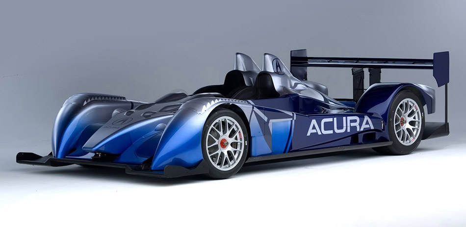 2006 Acura ALMS Race Car Concept Front Angle