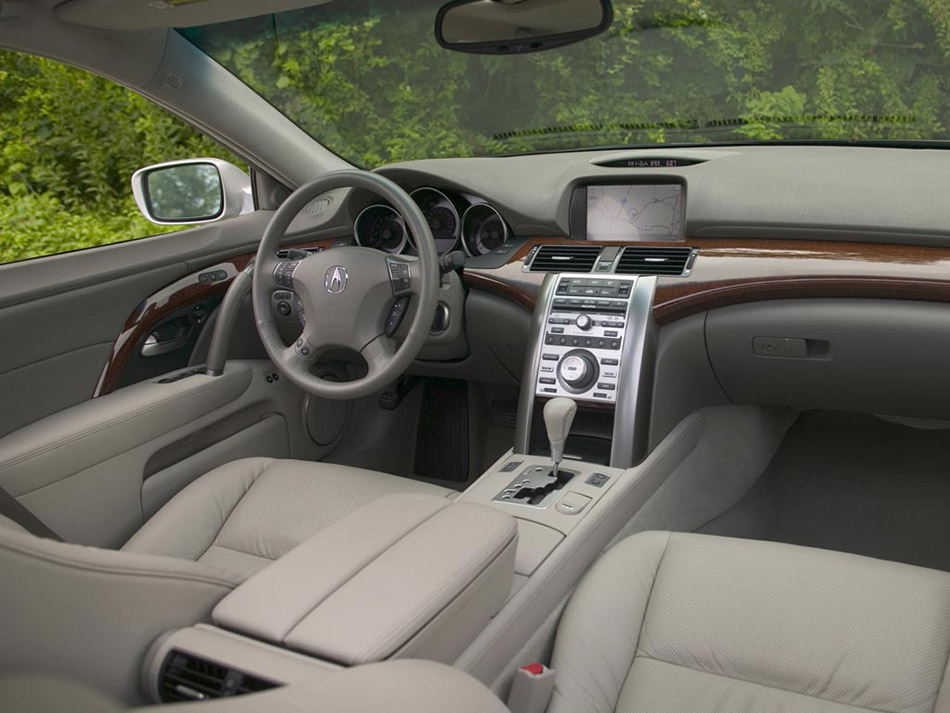 2006 Acura RL Interior