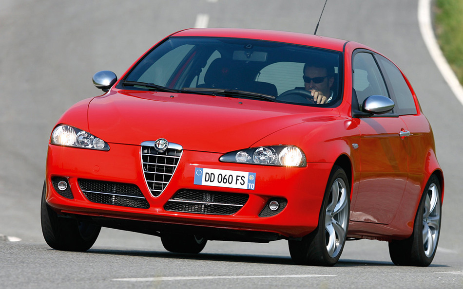 2006 Alfa Romeo 147 Q2 Front Angle