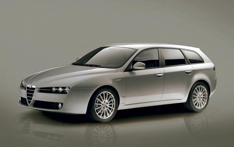 2006 Alfa Romeo 159 Sportwagon Front Angle