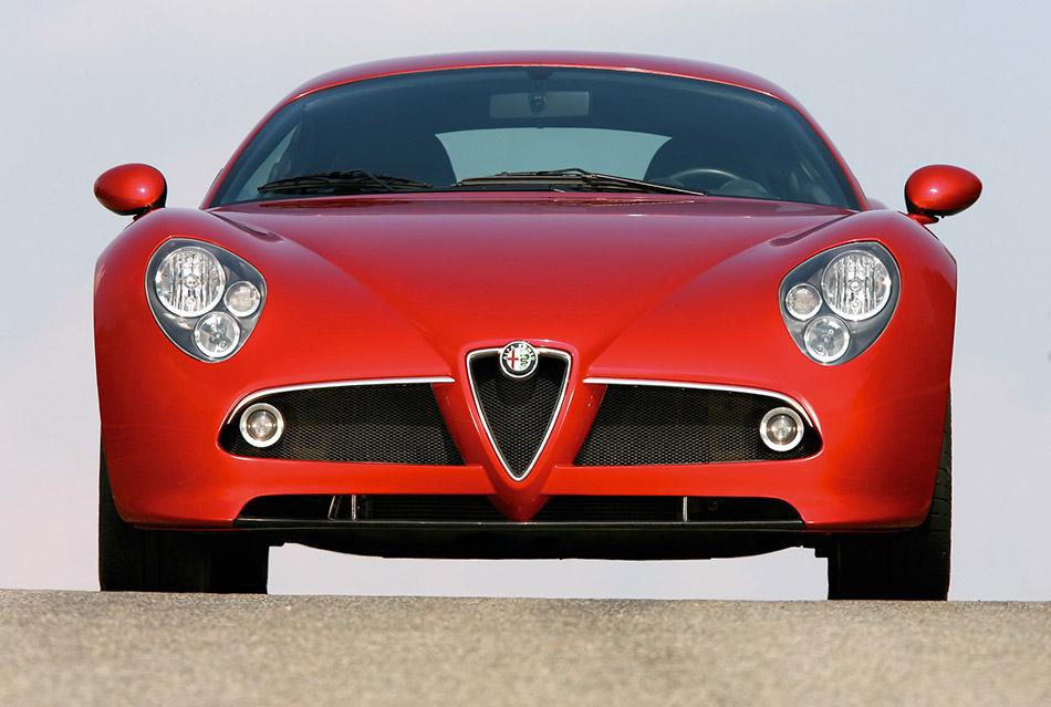 2006 Alfa Romeo 8C Competizione Front