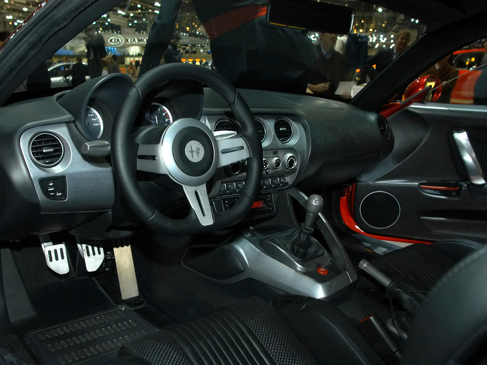 2006 Alfa Romeo 8C Competizione Interior