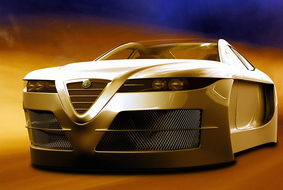 2006 Alfa Romeo Spix Concept Front Angle