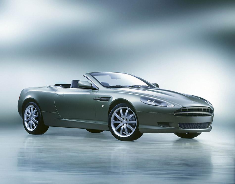 2006 Aston Martin DB9 Volante Front Angle