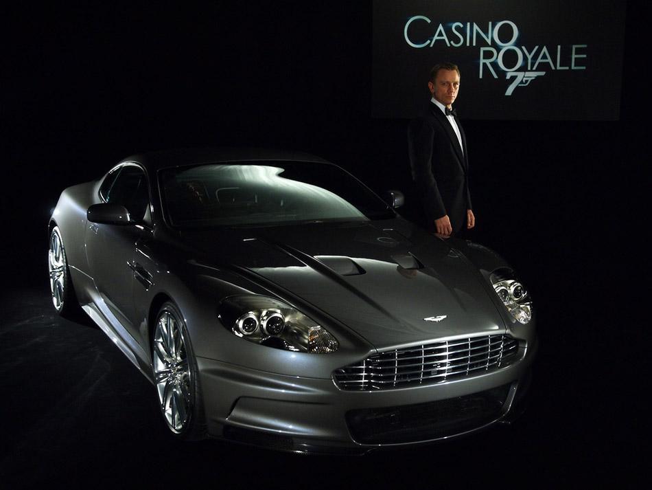 2006 Aston Martin DBS James Bond Daniel Craig Front-Angle