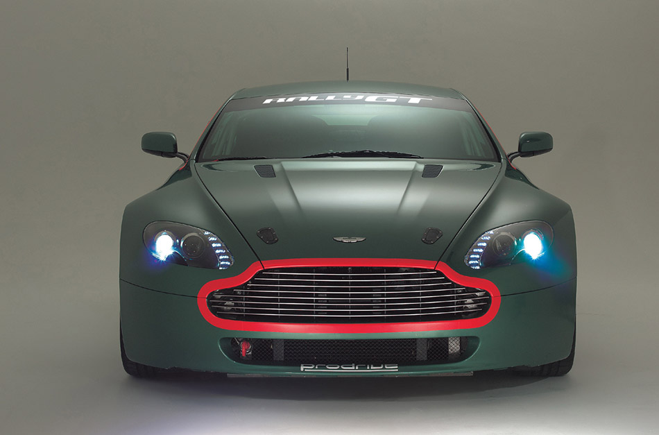 2006 Aston Martin Rally GT Front