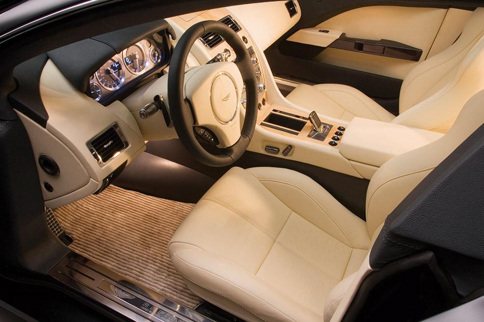 2006 Aston Martin Rapide Interior