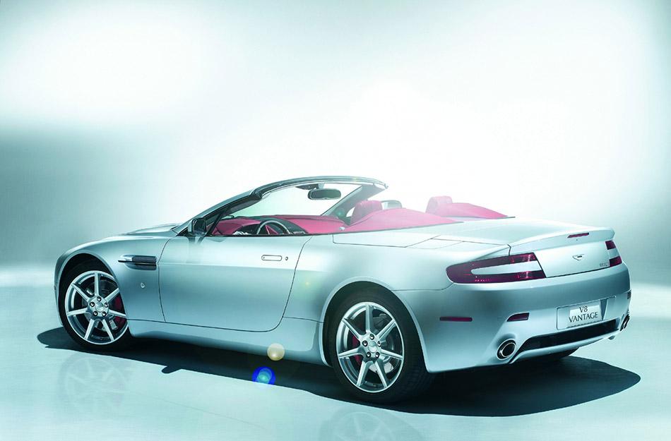 2006 Aston Martin V8 Roadster Rear