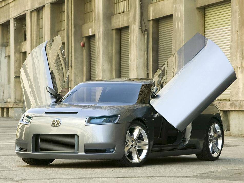 2006 Scion FUSE Concept Front Angle