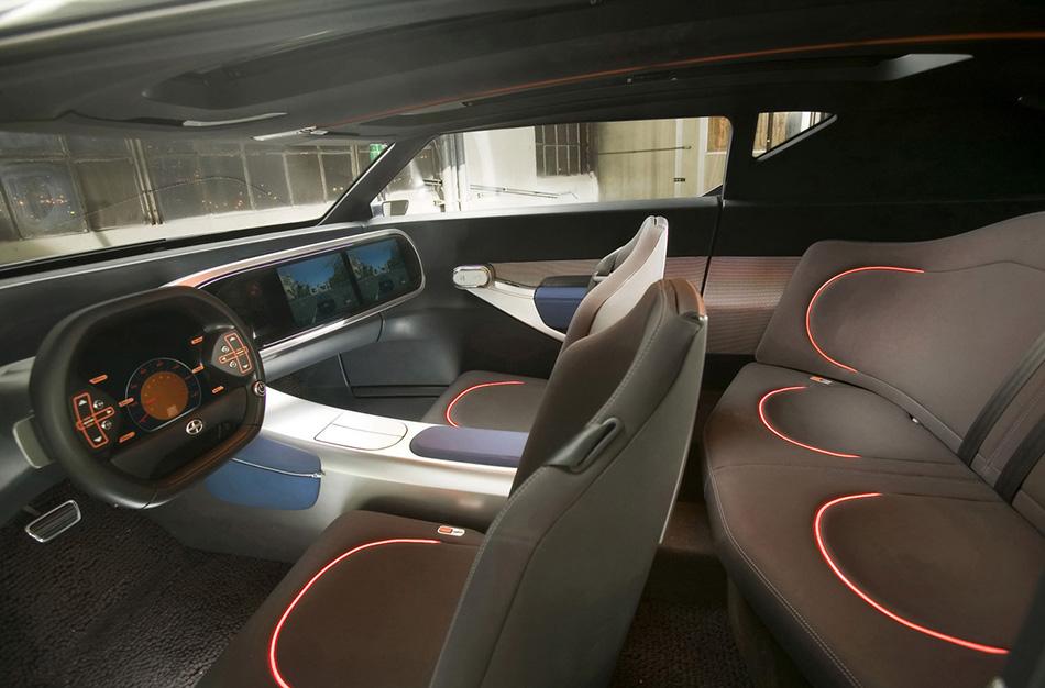 2006 Scion FUSE Concept Interior