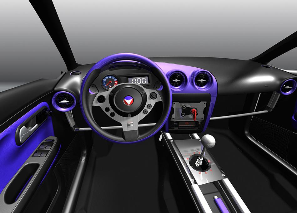 2006 Seat Ibiza Vaillante Concept Interior